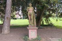 Oberrhein: Herkules-Statue im Mainzer Stadtpark - Foto: Stefan Frerichs / RheinWanderer.de