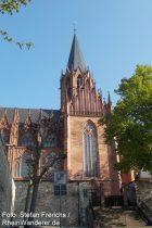 Oberrhein: Katharinenkirche in Oppenheim - Foto: Stefan Frerichs / RheinWanderer.de
