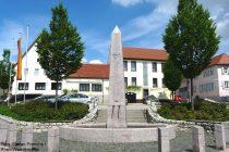 Oberrhein: Marktplatz von Bechtheim - Foto: Stefan Frerichs / RheinWanderer.de