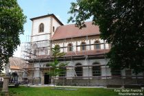 Oberrhein: Sankt-Lambert-Basilika in Bechtheim - Foto: Stefan Frerichs / RheinWanderer.de