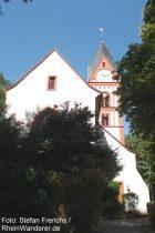 Oberrhein: Bergkirche in Osthofen - Foto: Stefan Frerichs / RheinWanderer.de