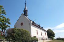 Oberrhein: Sankt-Michael-Kapelle auf dem Klausenberg bei Abenheim - Foto: Stefan Frerichs / RheinWanderer.de