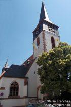 Oberrhein: Sankt-Peter-Kirche von Herrnsheim - Foto: Stefan Frerichs / RheinWanderer.de