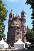 Oberrhein: Wormser Dom - Foto: Stefan Frerichs / RheinWanderer.de