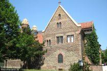 Oberrhein: Sankt-Paulus-Kirche mit Heidentürmen in Worms - Foto: Stefan Frerichs / RheinWanderer.de