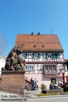 Pfälzerwald: Ehrenmal in Dahn - Foto: Stefan Frerichs / RheinWanderer.de