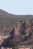 Pfälzerwald: Jungfernsprung bei Dahn - Foto: Stefan Frerichs / RheinWanderer.de