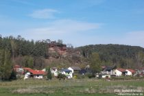 Pfälzerwald: Blick auf Dahn-Büttelwoog - Foto: Stefan Frerichs / RheinWanderer.de