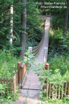 Mittelrhein: Hängebrücke im Binger Wald - Foto: Stefan Frerichs / RheinWanderer.de