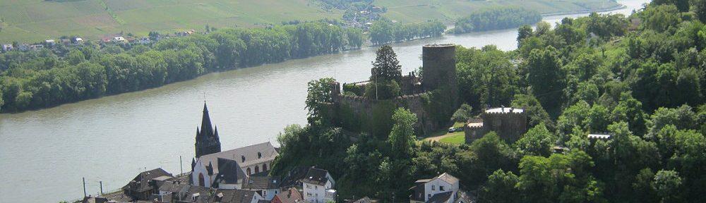 Mittelrhein: Blick auf Niederheimbach - Foto: Stefan Frerichs / RheinWanderer.de