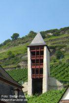 Mittelrhein: Postenturm in Bacharach - Foto: Stefan Frerichs / RheinWanderer.de