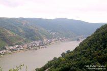 Mittelrhein: Pfalzblick auf Kaub - Foto: Stefan Frerichs / RheinWanderer.de