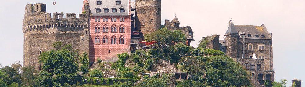 Mittelrhein: Schönburg bei Oberwesel - Foto: Stefan Frerichs / RheinWanderer.de