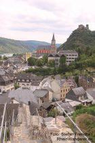 Mittelrhein: Stadtmauer von Oberwesel - Foto: Stefan Frerichs / RheinWanderer.de