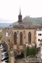 Mittelrhein: Wernerkapelle in Oberwesel - Foto: Stefan Frerichs / RheinWanderer.de