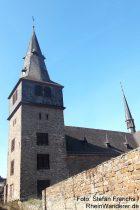 Mittelrhein: Pfarrkirche von Sankt Goar - Foto: Stefan Frerichs / RheinWanderer.de