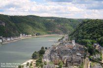 Mittelrhein: Blick von Burg Rheinfels auf Sankt Goar - Foto: Stefan Frerichs / RheinWanderer.de