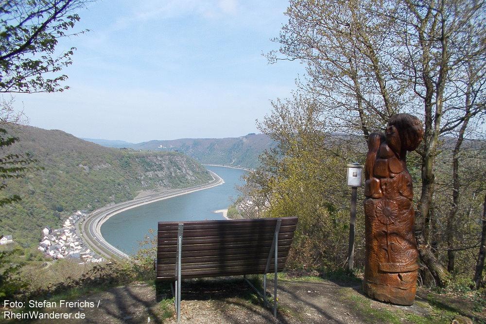 Mittelrhein: Aussichtspunkt Wilpertskopf - Foto: Stefan Frerichs / RheinWanderer.de