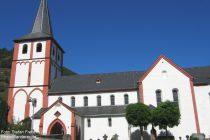 Mittelrhein: Pfarrkirche von Hirzenach - Foto: Stefan Frerichs / RheinWanderer.de