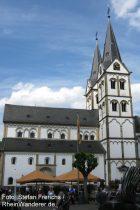 Mittelrhein: Sankt-Severus-Kirche in Boppard - Foto: Stefan Frerichs / RheinWanderer.de