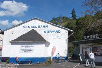 Mittelrhein: Talstation der Sesselbahn von Boppard - Foto: Stefan Frerichs / RheinWanderer.de