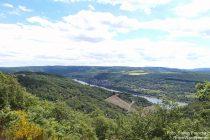 Mittelrhein: Blick auf den Rhein bei Osterspai - Foto: Stefan Frerichs / RheinWanderer.de