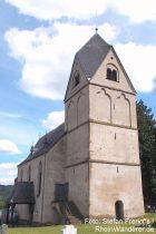 Mittelrhein: Sankt-Dionysius-Kirche in Rhens - Foto: Stefan Frerichs / RheinWanderer.de