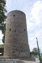 Mittelrhein: Scharfer Turm von Rhens - Foto: Stefan Frerichs / RheinWanderer.de