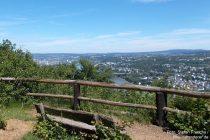 Mittelrhein: Aussichtspunkt Dommelberg - Foto: Stefan Frerichs / RheinWanderer.de