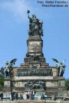 Mittelrhein: Niederwalddenkmal bei Rüdesheim - Foto: Stefan Frerichs / RheinWanderer.de