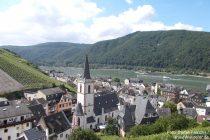 Mittelrhein: Blick auf Assmannshausen - Foto: Stefan Frerichs / RheinWanderer.de