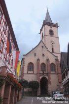 Mittelrhein: Sankt-Martin-Kirche in Lorch - Foto: Stefan Frerichs / RheinWanderer.de
