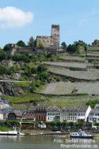 Mittelrhein: Burg Gutenfels und Kaub - Foto: Stefan Frerichs / RheinWanderer.de