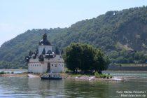 Mittelrhein: Burg Pfalzgrafenstein bei Kaub - Foto: Stefan Frerichs / RheinWanderer.de