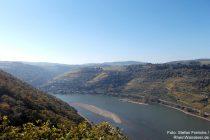 Mittelrhein: Blick vom Aussichtspunkt Alte Burg rheinaufwärts - Foto: Stefan Frerichs / RheinWanderer.de