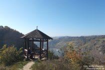 Mittelrhein: Aussichtspunkt Waldschule - Foto: Stefan Frerichs / RheinWanderer.de