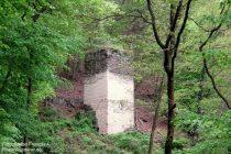 Mittelrhein: Grubenturm bei Wellmich - Foto: Stefan Frerichs / RheinWanderer.de