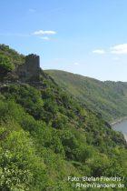 Mittelrhein: Blick auf Burg Liebenstein - Foto: Stefan Frerichs / RheinWanderer.de