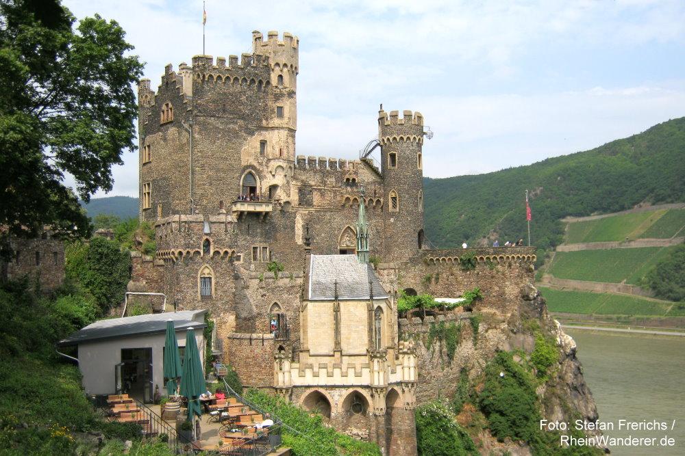 Mittelrhein: Burg Rheinstein - Foto: Stefan Frerichs / RheinWanderer.de