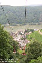 Mittelrhein: Sesselbahn bei Assmannshausen - Foto: Stefan Frerichs / RheinWanderer.de