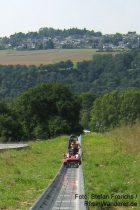 Mittelrhein: Sommerrodelbahn auf der Loreley - Foto: Stefan Frerichs / RheinWanderer.de