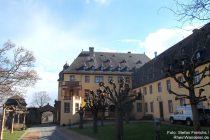 Inselrhein: Herrenhaus und Westflügel von Schloss Vollrads - Foto: Stefan Frerichs / RheinWanderer.de