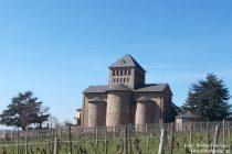 Inselrhein: Sankt-Johannes-Basilika von Schloss Johannisberg - Foto: Stefan Frerichs / RheinWanderer.de