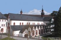Inselrhein: Basilika von Kloster Eberbach - Foto: Stefan Frerichs / RheinWanderer.de