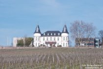 Inselrhein: Schloss Hansenberg in Johannisberg - Foto: Stefan Frerichs / RheinWanderer.de