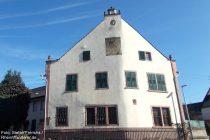 Inselrhein: Reitz'scher Hof in Mittelheim - Foto: Stefan Frerichs / RheinWanderer.de