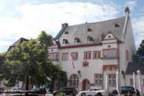 Inselrhein: Altes Rathaus in Kiedrich - Foto: Stefan Frerichs / RheinWanderer.de