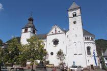 Mosel: Sankt-Castor-Kirche in Treis-Karden - Foto: Stefan Frerichs / RheinWanderer.de