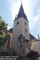 Mosel: Sankt-Stephan-Kirche in Pommern - Foto: Stefan Frerichs / RheinWanderer.de