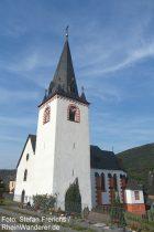 Mosel: Sankt-Luzia-Kirche in Löf - Foto: Stefan Frerichs / RheinWanderer.de